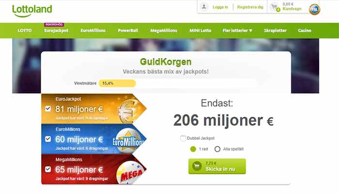 Lottoland lotto online