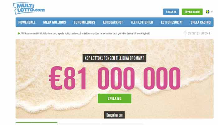 Multilotto lotto online